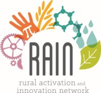 RAIN (Rural Activation and Innovation Network) logo