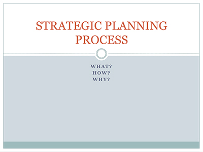 RAIN Strategic Planning Process PowerPoint template